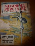 1951 MÉCANIQUE POPULAIRE: Un Bateau Transformable;Chasser à La Fronde Avec Précision ;Carrelage Murs Et Sols ;etc - Sciences & Technique