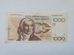 BELGIO 1000 FRANCS - [ 2] 1831-... : Regno Del Belgio