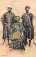 Thiès (Sénégal) - Types Ouolof En Costume Traditionnel - Cliché E.H. - Carte Colorisée Non Circulée - Afrique