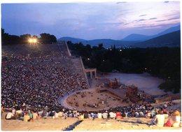 Epidaurus. Asclepieion. The Theatre. Epidaure. Asclépieion. Le Théâtre. Epidauros. Asklepieion. Das Theater. - Greece