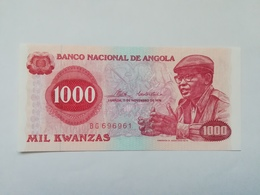 ANGOLA 1000 KWANZAS 1976 - Angola