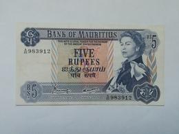 MAURITIUS 5 RUPEES - Maurice