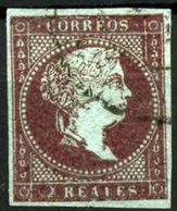España Nº 42. Año 1855 - 1850-68 Reino: Isabel II