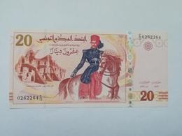 TUNISIA 20 DINARS 2011 - Tunisie