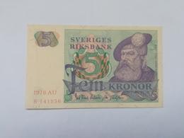 SVEZIA 5 KRONOR 1978 - Suède