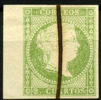 España Nº 47. Año 1855 - 1850-68 Reino: Isabel II