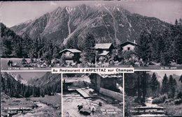 Champex, Restaurant D'Arpettaz, Cyrille Lovey (3934) - VS Valais