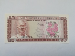 SIERRA LEONE 50 CENTS 1981 - Sierra Leona