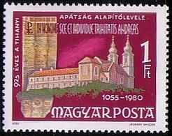 Hungary 1980 Mi 3419 Castle, 925 Years Abdei Tihany MHN** W810 - Hongrie