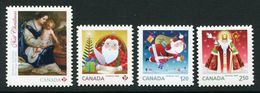 CANADA 2014,#2796i-2800i,  CHRISTMAS   DIE CUT From QUARTELY PACK - Carnets