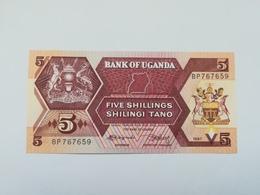 UGANDA 5 SHILINGI 1987 - Ouganda