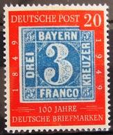 ALLEMAGNE FEDERALE                 N° 2 B                 NEUF* - Unused Stamps