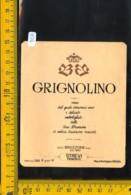 Etichetta Vino Liquore Grignolino Bruzzone Strevi - Altri