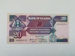 UGANDA 20 SHILINGI 1987 - Ouganda
