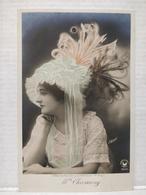 Femme. Chassaing. Concours De Chapeaux, 1er Prix - Femmes