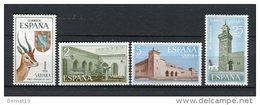 Sahara 1971. Edifil 288-91 ** MNH. - Sahara Spagnolo