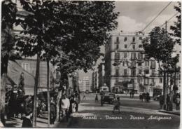 Napoli, Vomero: Piazza Antignano. Scritta 1959 Non Viaggiata - Napoli
