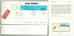 V7349 ITALIA 1992 REPUBBLICA FRODE POSTALE Lettera Espresso Da Firenze 29.12.1992 Per Città, Affrancata - 6. 1946-.. Repubblica