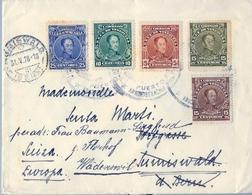 1928 , VENEZUELA , SOBRE CIRCULADO , PUERTO CABELLO - SUMISWALD ( BERNA ) , LLEGADA - Venezuela