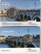 @Y@  Nederland    2 Euro 2017  UNC  Coincard  Nieuw Muntmeester Teken. - Nederland