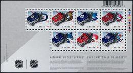 CANADA, 2014, # 2778, NHL  Zamboni SS MNH - Blocs-feuillets