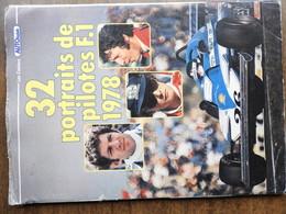 32 Portraits De Pilotes F.1 1978 - Sport