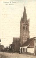 Jabbeke : Eglise De Jabbeke ( Met Gemeentehuis St - Hubert ) - Jabbeke