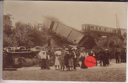 65-Solre Sur Sambre- Déraillement Du Train 30/07/1906- Hainaut ,Erquelinnes - Trains