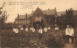 Ardooie / Ardoye : Kostschool Der Zusters --- Kinderen In De Hof 1933 - Ardooie