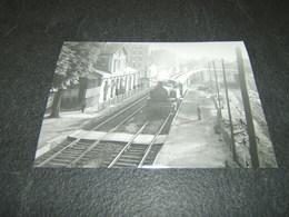 Photo Véritable 10 X 15 Cm Jacques BAZIN :  131 TB 6 à LE PARC St MAUR Ligne De La Bastille 25 Juin 1956 - Treinen