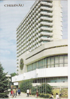Moldova  Moldawien   Moldau   1990  ;  Chisinau ; Intourist Hotel ; Postcard - Moldavie