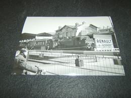 Photo Véritable 10 X 15 Cm Jacques BAZIN :  131 TB 27 à LA VARENNE CHENNEVIERES Ligne De La Bastille 8 Avril 1956 - Treinen