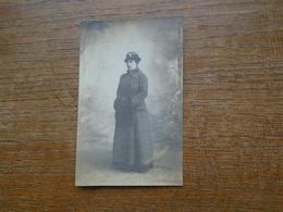 Carte Photo De 1927 Silhouette De Femme - Silhouettes