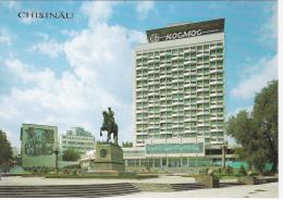 Moldova  Moldawien  Moldau   1990  ;  Chisinau ; Cosmos Hotel In Kotovsky Square ; Postcard - Moldavie