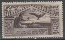 ITALIA 1930 - Virgilio P.a. 7,70+1,30 L. - 1900-44 Vittorio Emanuele III