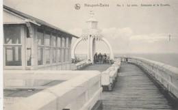 Nieuport - Bains , Nieuwpoort , N° 1 , La Jtée , Estacade Et La Buvette - Nieuwpoort