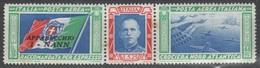 ITALIA 1933 - Crociera Nord Atlantica 5,25+44,75 L. I-NANN **  (2 Scan) - 1900-44 Vittorio Emanuele III