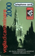 *ITALIA: GLOBAL ONE - VOGLIA DI CAMMINARE 2000 - Scheda NUOVA Prototipo - Italia