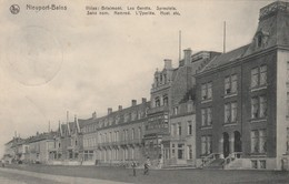Nieuport - Bains , Nieuwpoort , Villas : Brialmont,Les Genêts,Spreutels, Sans Nom ,Nemrod ,l'Yperlée ,Huet - Nieuwpoort