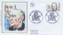 France 1982 FDC Physician Henri Mondor Surtaxed Stamp 1,40+0,30 Fr. - Physics