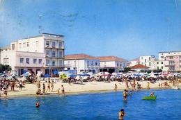 Igea Marina - Rimini - Spiaggia E Alberghi Visti Dal Mare - Formato Grande Viaggiata – E 10 - Rimini