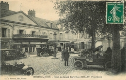 MANTES LA JOLIE HOTEL DU GRAND CERF HENRI MALLET - Mantes La Jolie