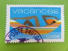 Timbre France YT 3493 - Timbre Pour Vacances - 2002 - France