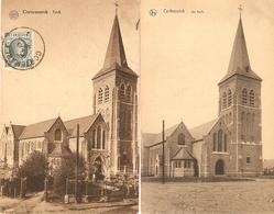 Cortemarck / Kortemark : Kerk  --- 2 Kaarten - Kortemark