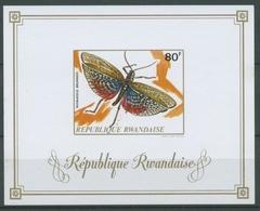 Ruanda 1973 Insekten Heuschrecke Block 30 B Postfrisch (C24645) - Rwanda