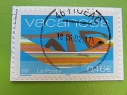 Timbre France YT 33 (3494) - Timbre Pour Vacances - 2002 - Cachet Rond Figeac (46) - Sellos Autoadhesivos