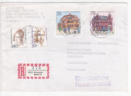 1991 , Germany  To Moldova , Postamt , Used Cover - [6] Democratic Republic