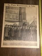 ANNEES 20/30 LA FOIRE COMMERCIALE DE LILLE - Old Paper