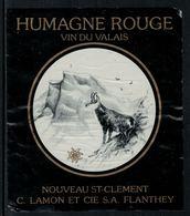 Rare // Etiquette De Vin // Chamois // Humagne Rouge, Chamois - Etiquettes