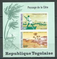 Togo Bloc-feuillet YT N°76 Paysages De La Cote Neuf/charnière * - Togo (1960-...)